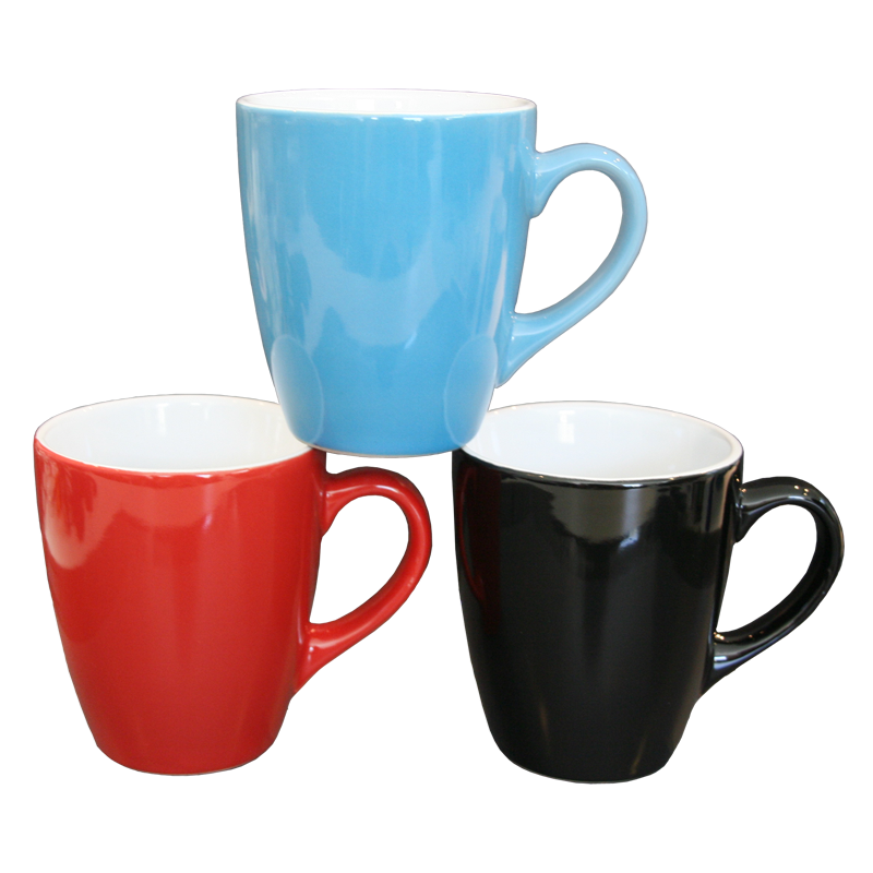 Color coffee mugs