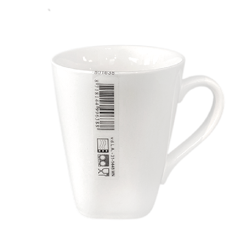 Mug soft-square - New Bone China